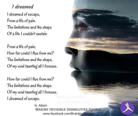 I dreamed poem