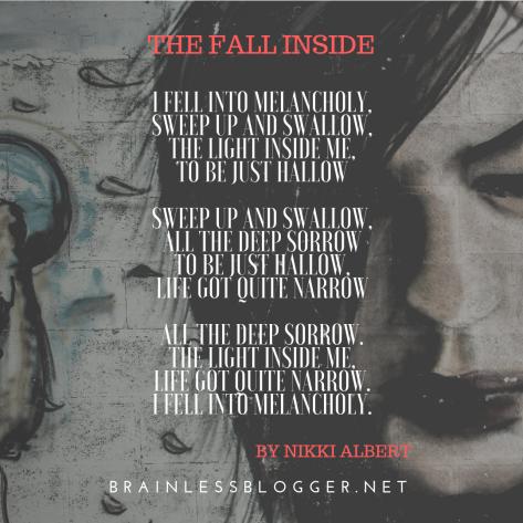 Poem-The fall inside