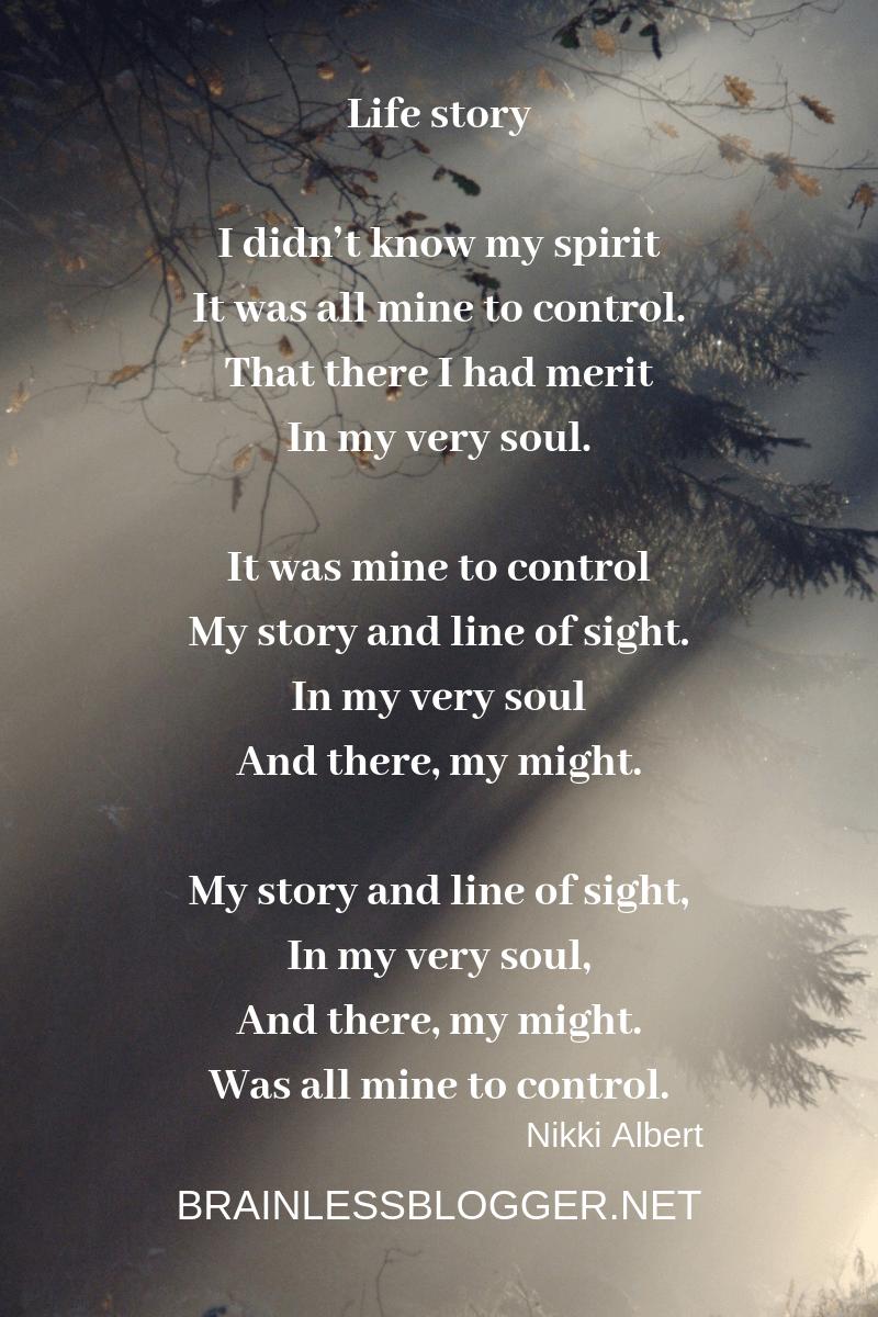 Poem: Life story